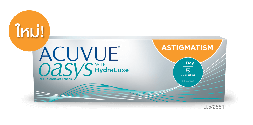 Acuvue Oasys 1Day For Astig (30lens)